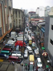 Typical busy Manila street